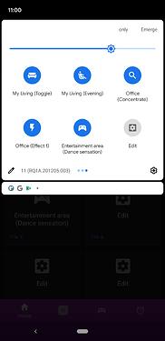 Quick settings tiles screenshot 1